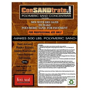 Polymeric Sand Concentrate by ConSANDtrate