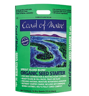 Organic Seed Starting Mix by Coast of Maine